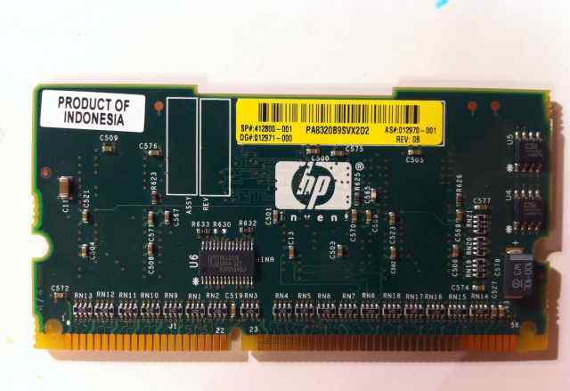 HP E200 DDR 64Mb bbwc Memory