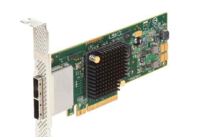 Новые LSI SAS9207-8E PCI-E 3.0 x8, LP external SGL