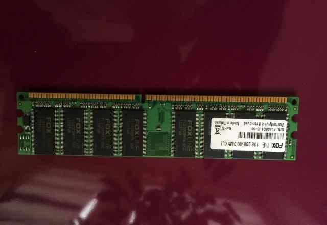 Модули памяти DDR2 1GB