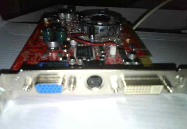 Radeon x600xt 128M V/D/vivo