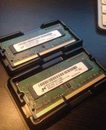 4GB DDR3 2 x 2GB 1600Mhz из мака оригинал