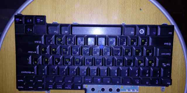 Клавиатура для ноутбука Dell D630