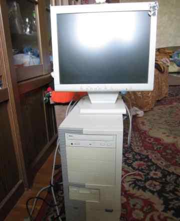 Компьютер б/у с ж/к монитором в рабочем состоянии