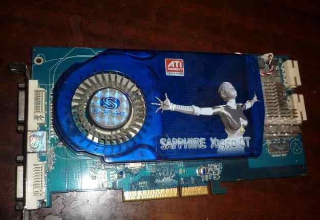 Sapphire X1950 GT 256 MB AGP