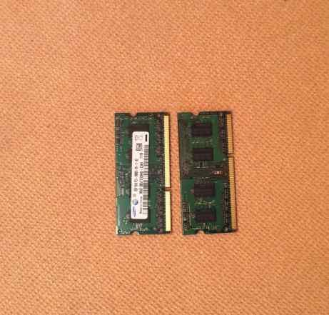4 GB samsung 2x2Gb 1333 M471B5773DH0 для ноутбука