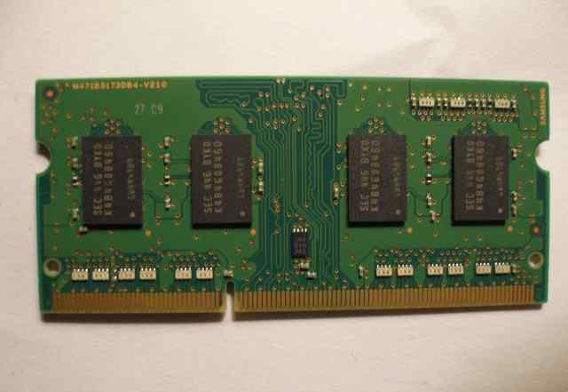 SO dimm DDR3L 4GB samsung