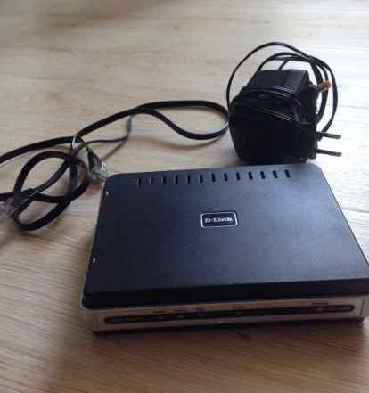 Adsl Роутер D-Link DSL-2500U