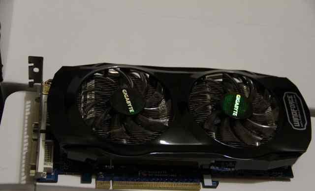 Видеокарта Gigabyte GTX 560 Ti 1GB