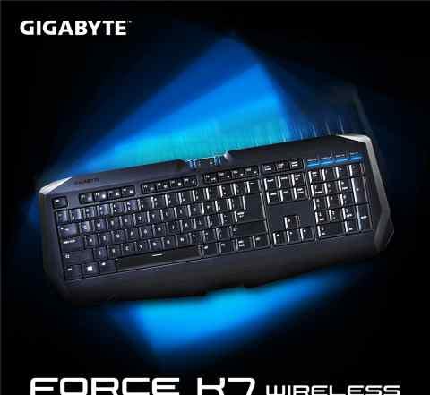 Gigabyte force K7 Wireless/беспроводная клавиатура