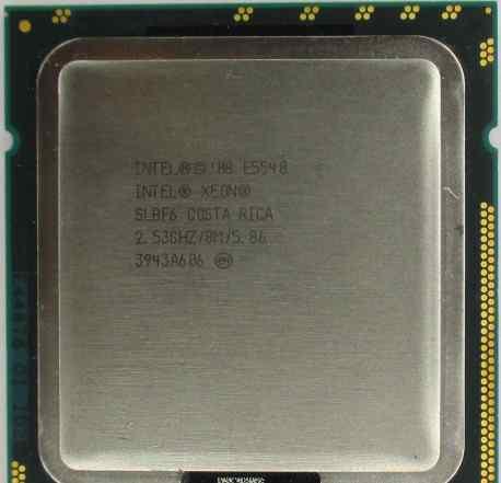 Процессор Intel Xeon E5540 (2.53GHz/4-cor/8MB/80W)