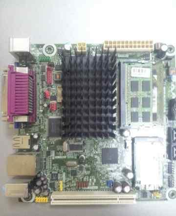 Материнская плата+ двухъядерный процессор+ память