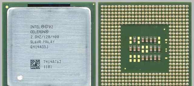 Центральные процессоры Intel Celeron 4 шт