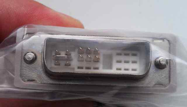 Переходник asus VGA - DVI