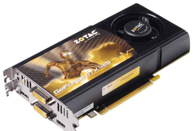 Zotac GeForce GTX 460 1GB 256bit DDR5