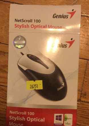 Мышь, новая NetScroll 100, PS 2