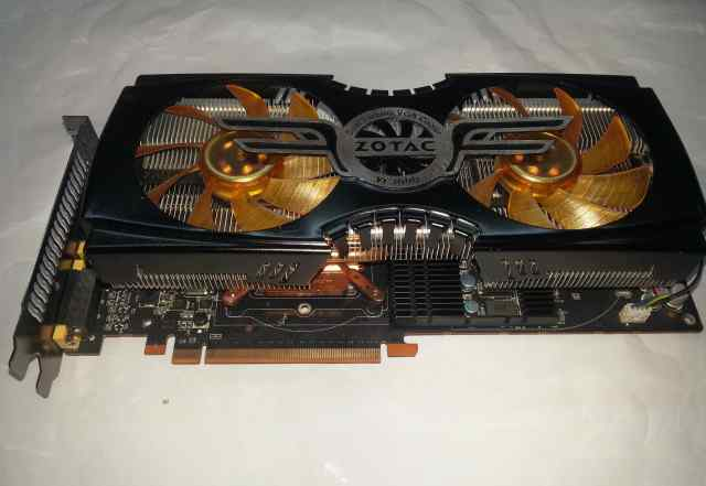Zotac GeForce GTX480 не рабочая
