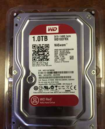 Жесткий диск(HDD) WD Red NAS 1 TB WD10efrx