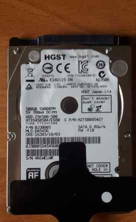 Жесткий диск для ноутбука hgst 2.5 500GB