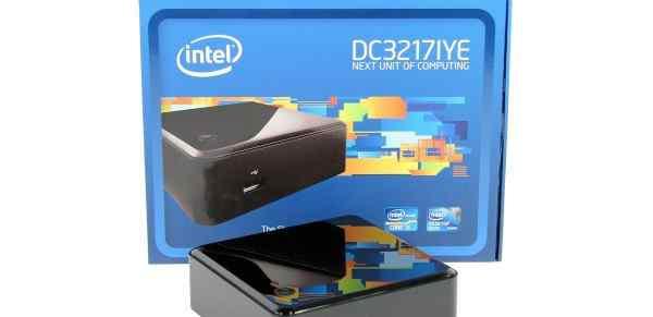 Микро Мини компьютер на intel i3 DC3217IYE