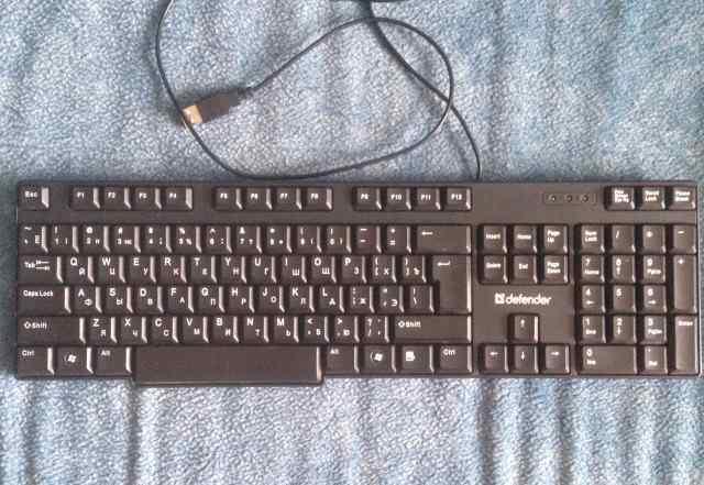 Клавиатура Defender Аccent 930 black