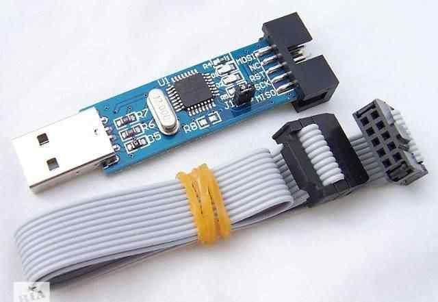 USB ISP программатор для atmel AVR ATMega ATTiny