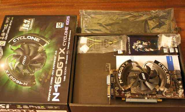 MSI GeForce GTX460 Cyclone OC 1 GB
