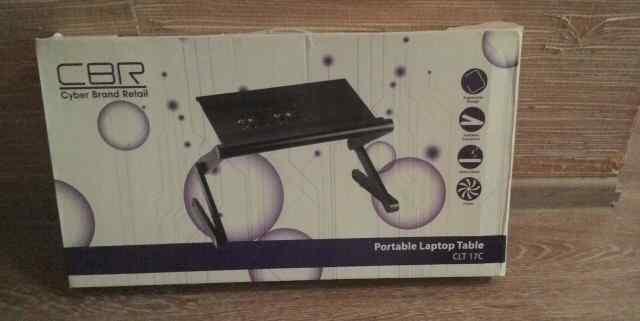 Подставка с охлаждением для ноутбука CBR cyber bra