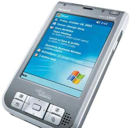 Кпк Fujitsu-Siemens Pocket Loox 720