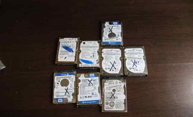 Жёсткие диски 2.5