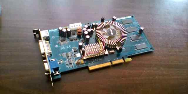 GeForce n6200 GE/TD/128Mb AGP