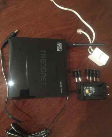 Wi-Fi роутер Trendnet (adsl 2/2+) TEW-657BRM