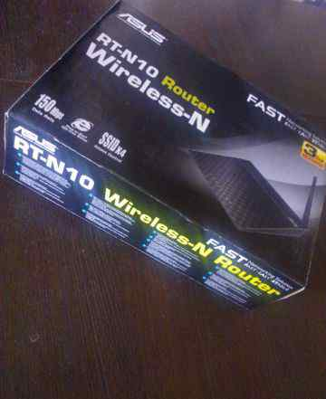 Wi Fi роутер Asus RT-N10 Wireless