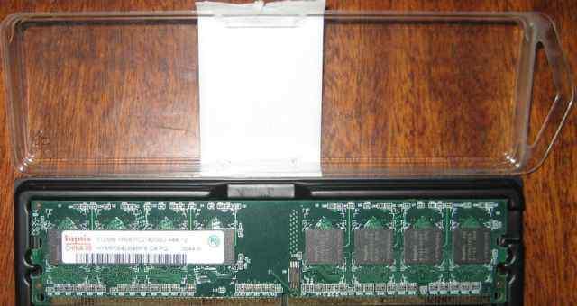 Память DDR2 hynix 512mB