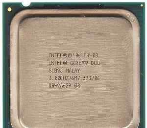 Процессор intel CPU Core 2 Duo E8400