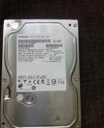 HDD Hitachi 500 gb 3.5 7200rpm
