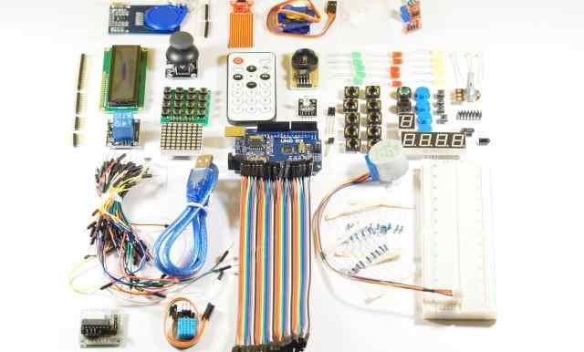 Arduino starter KIT imagine