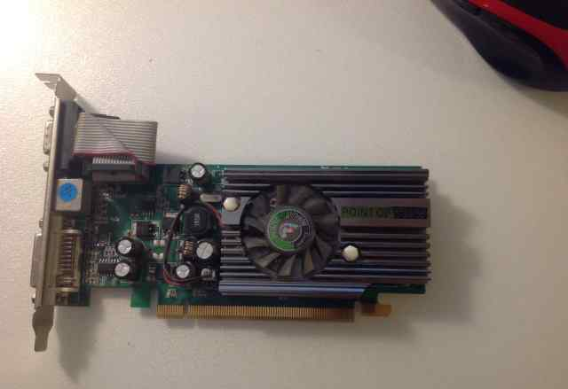 256Mb PCI-E GeForce 7200GS, Point of View DDR2, TV