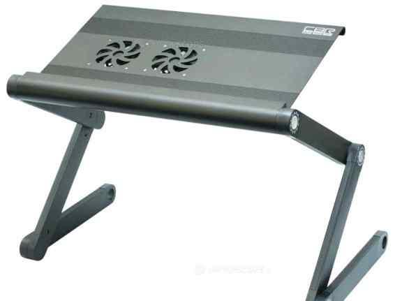 Складной столик с охлаждением для ноута новый