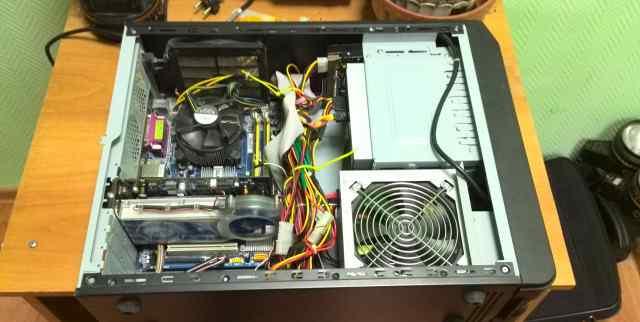 Intel Е2180, 4гб озу, ATI HD3600, 80гб