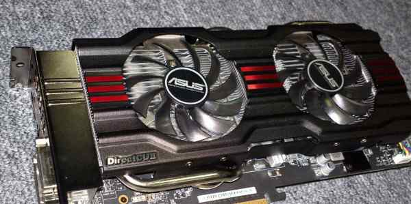 GeForce GTX 770 Asus DirectCU II OC - 2Gb