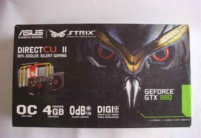 Asus NVidia GeForce GTX 980 не открывали-в коробка