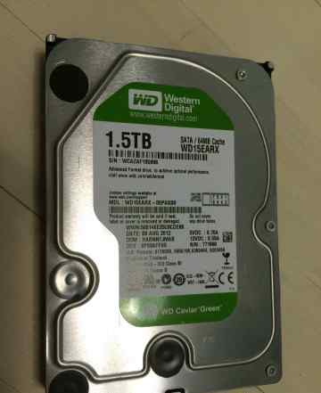 HDD 1.5 Tb SATA-II Western Digital Caviar Green