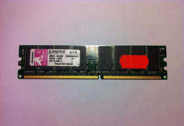 Оперативная память Kingston ddr1 512mb