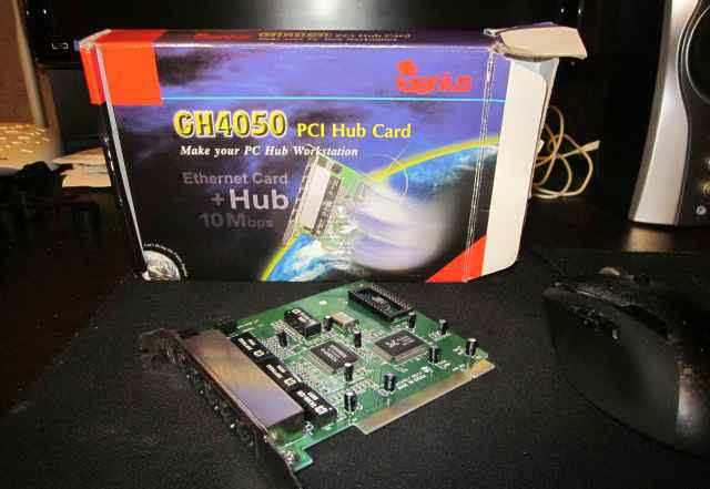 Hub card+ Ethernet card ch4050