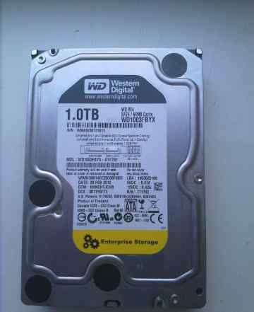 Жесткий диск (HDD) Western Digital 1003fbyx (1TB)
