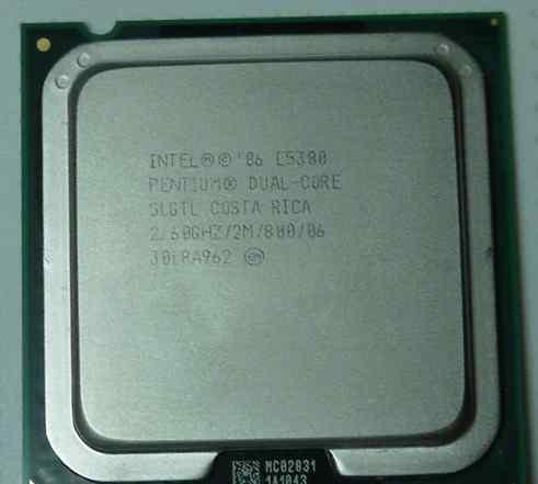 Intel Pentium Dual-Core E5300 2600MHz LGA 775