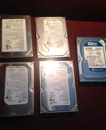Жесткие диски HDD 80.120.160.250.320 GB