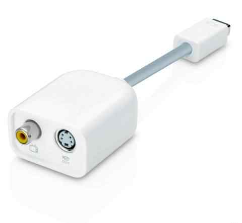 Apple display port to Video Adapter