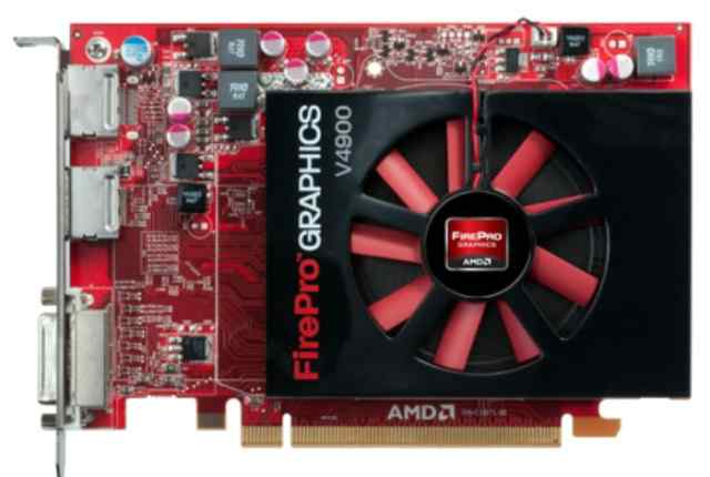 AMD FirePro V4900 1Gb DDR5