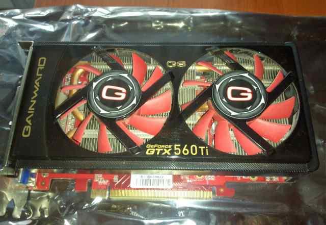 Б/У Gainward Geforce GTX560Ti GS 1Gb